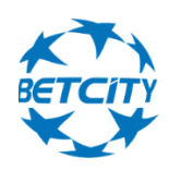 Круглый лого букмекера BetCity