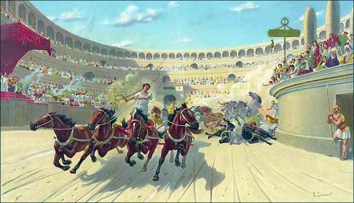 Как проходили скачки в Древнем Риме