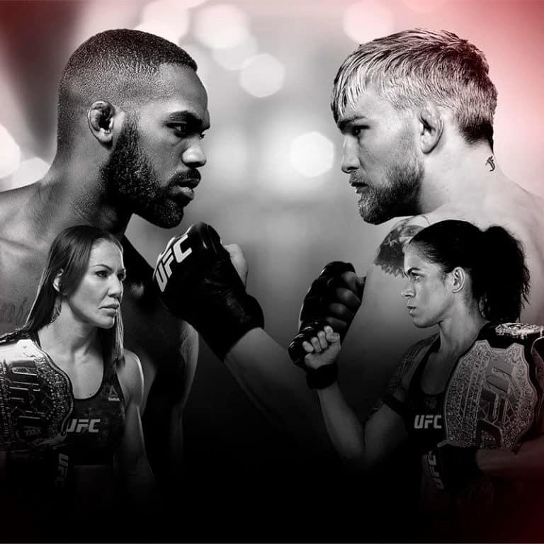 Обзор карда UFC 232