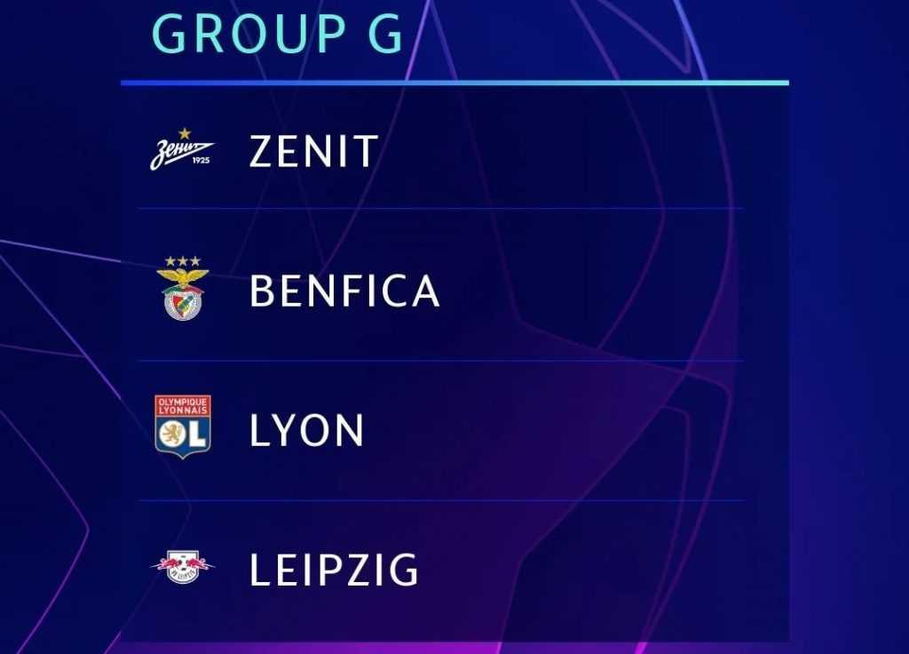 Прогноз на группу G в сезоне ЛЧ 2019/20