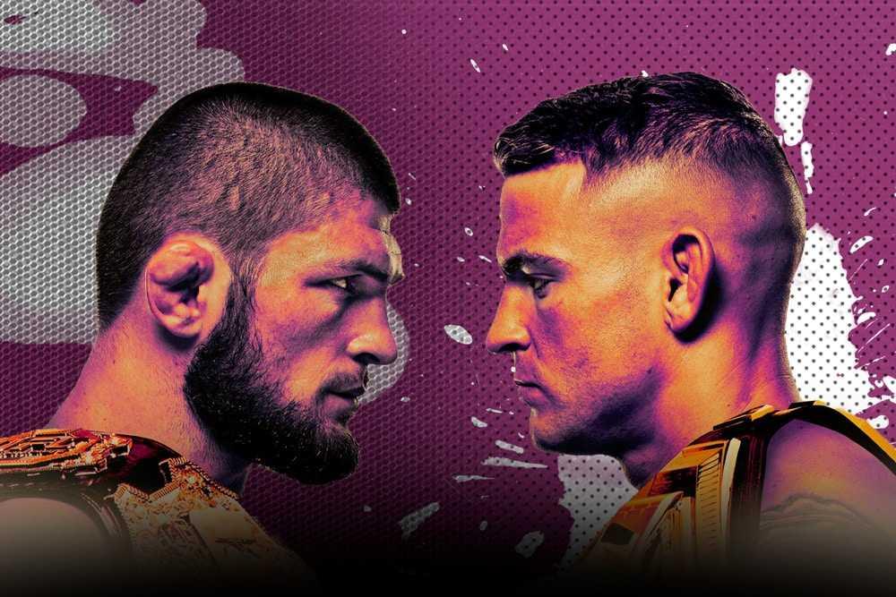 UFC 242: Нурмагомедов - Порье