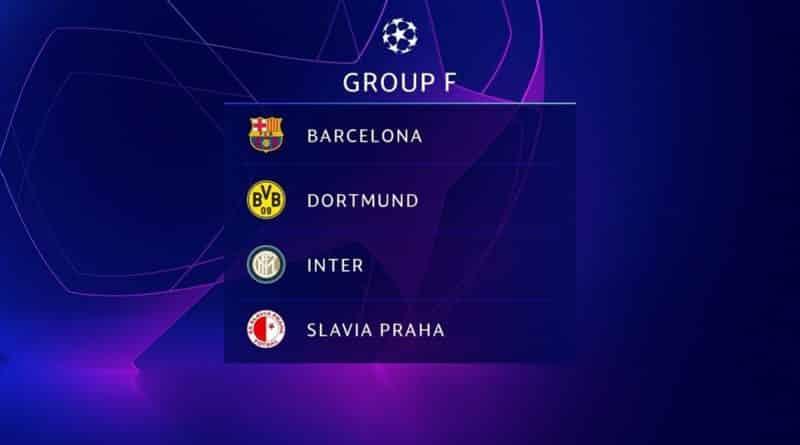 Прогноз на группу F в сезоне ЛЧ 2019/20