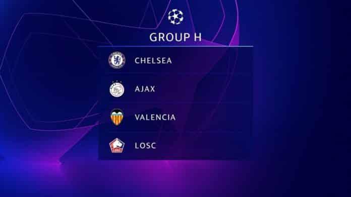 Прогноз на группу H в сезоне ЛЧ 2019/20