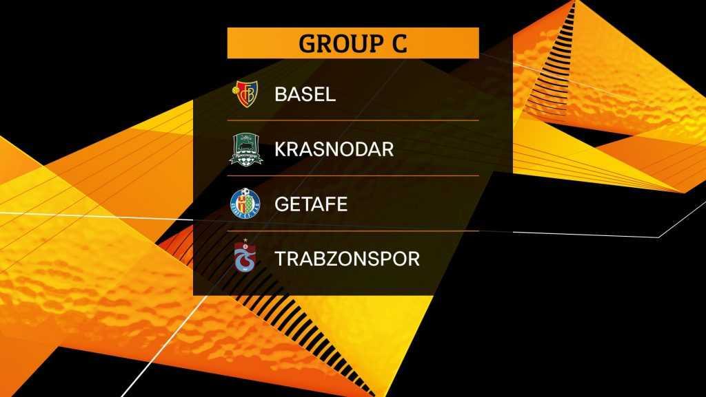 Прогноз и расписание группа В в  Лиге Европы в сезоне 2019/20