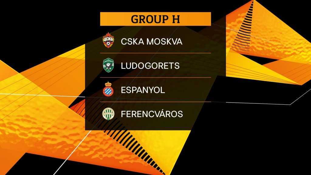 Прогноз и расписание группы H в  Лиге Европы в сезоне 2019/20