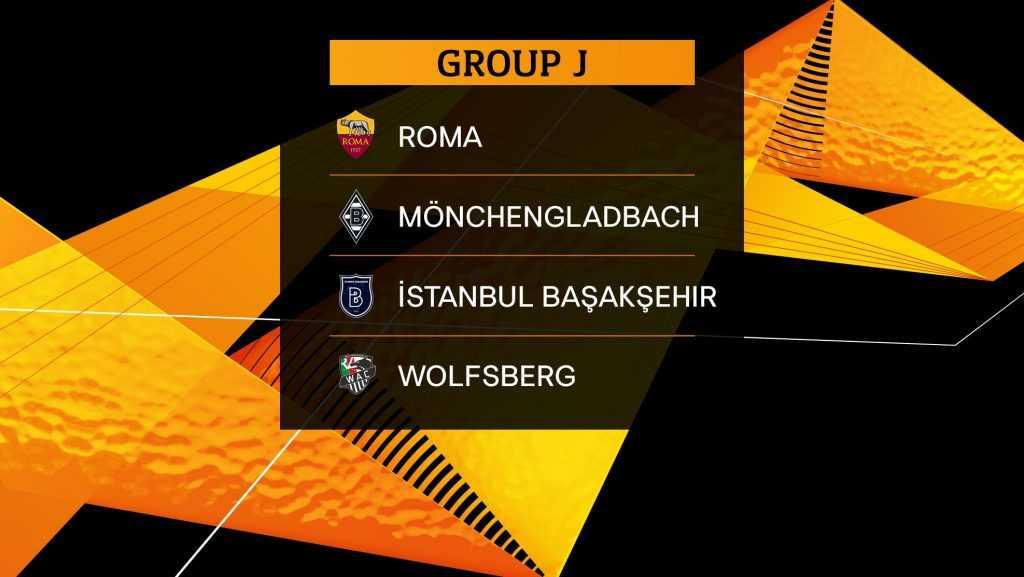Прогноз и расписание группы J в  Лиге Европы в сезоне 2019/20