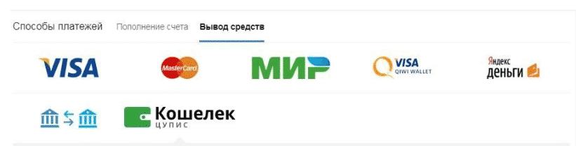 Вывод средств из БК Мостбет