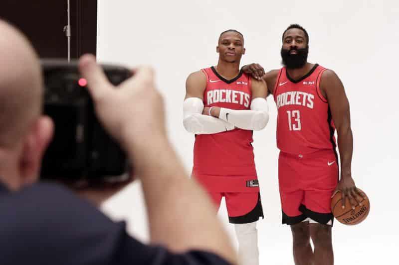 Рассел Уэстбрук в Рокетс в сезоне 2019/20 в NBA