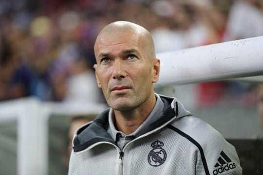 Увольнение Зидана из Реал Мадрида