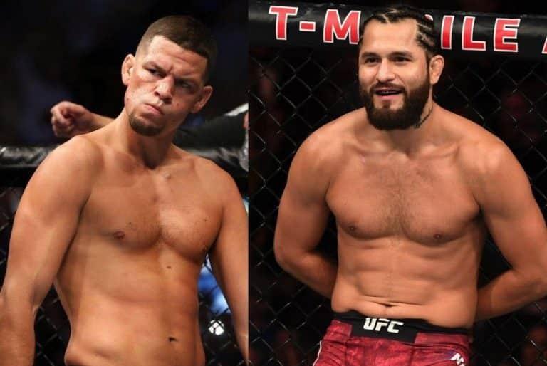 Хорхе Масвидаль - Нейт Диаз UFC 244