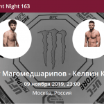 Забит Магомедшарипов - Келвин Каттер прогноз на бой UFC Fight Night 163