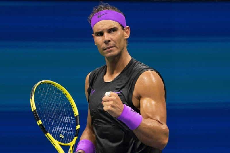 Рафаэль Надаль - 1-й номер рейтинга ATP по зарабоктам за 2019 г.