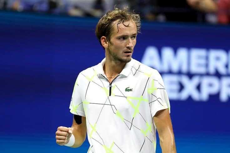 Даниил Медведев - 5-й номер рейтинга ATP по зарабоктам за 2019 г.
