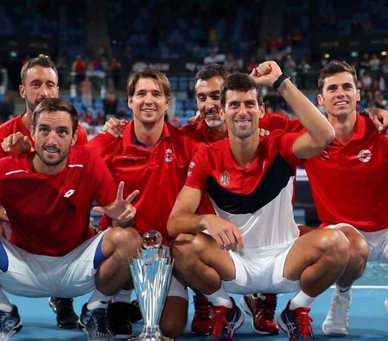 Сборная сербии впервые завоевала кубок ATP