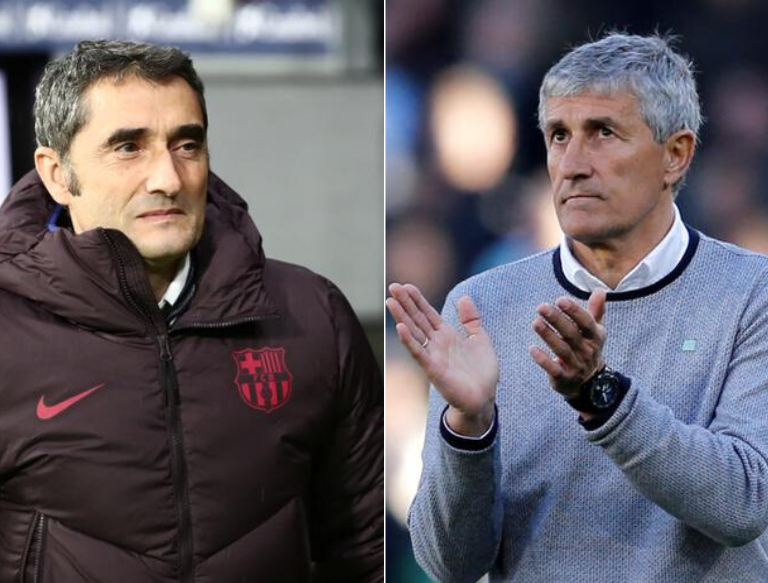 Увольнение Вальверде из Барселоны