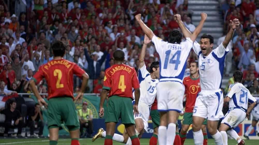 Греция – чемпионы Европы 2004