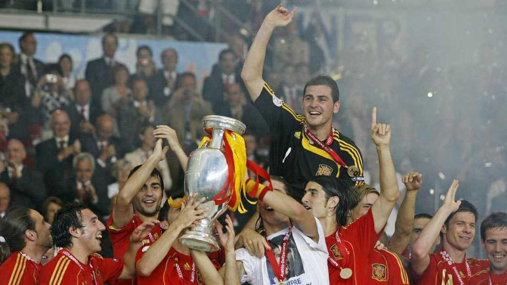 Первый из многих триумфов испанского золотого поколения