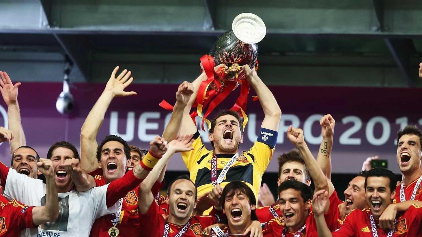 Испания – единственная сборная, выигравшая Евро дважды подряд