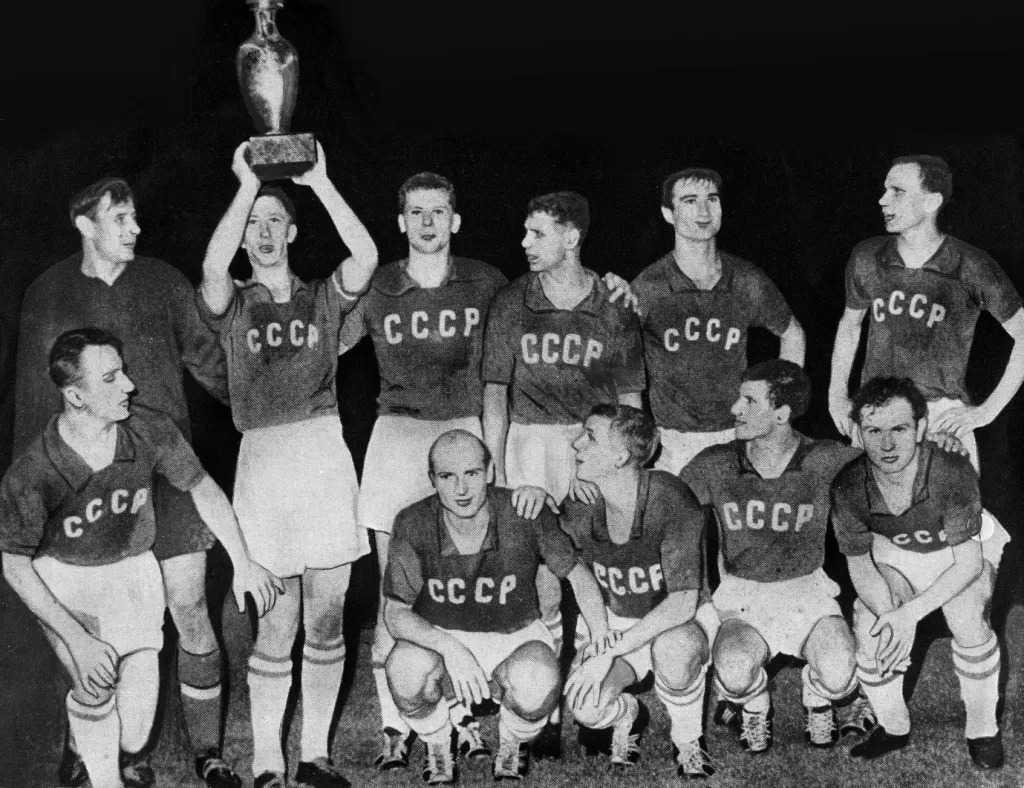 СССР – победители первого Евро