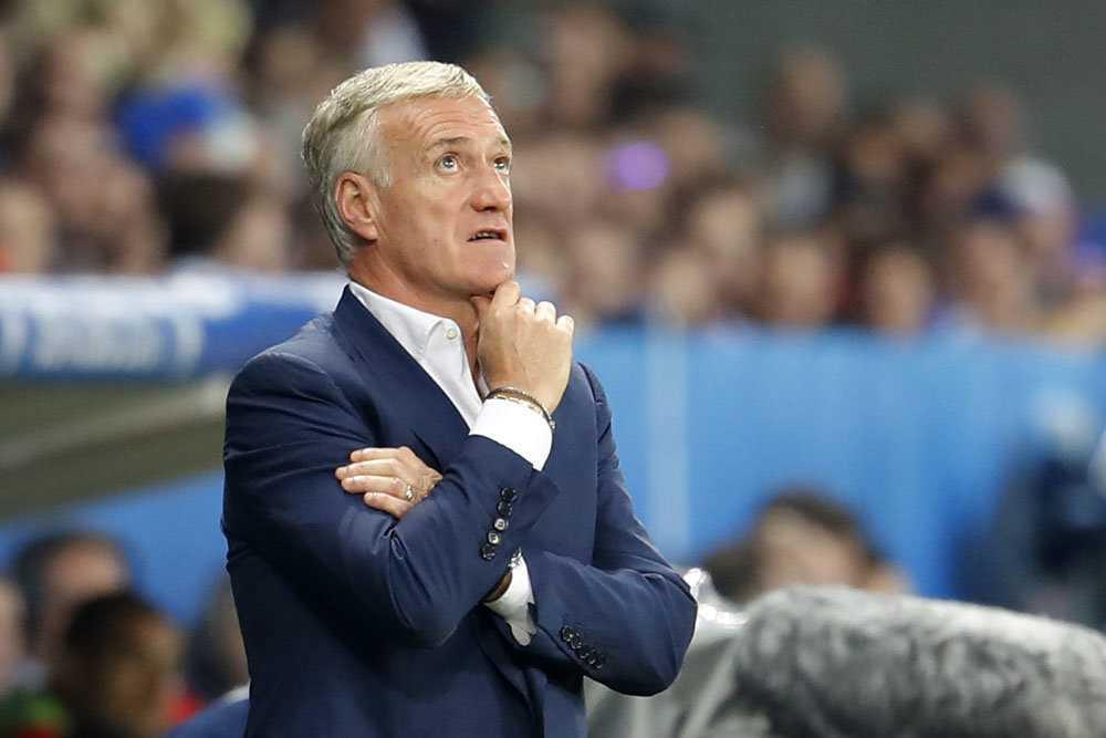 Дидье Дешам – главный тренер сборной Франции