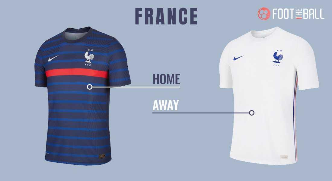 Комплекты формы сборной Франции