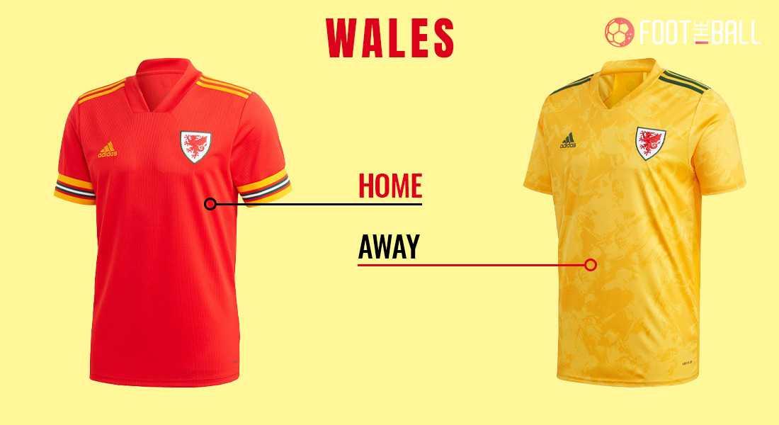 Форма сборной Уэльса на Евро-2020